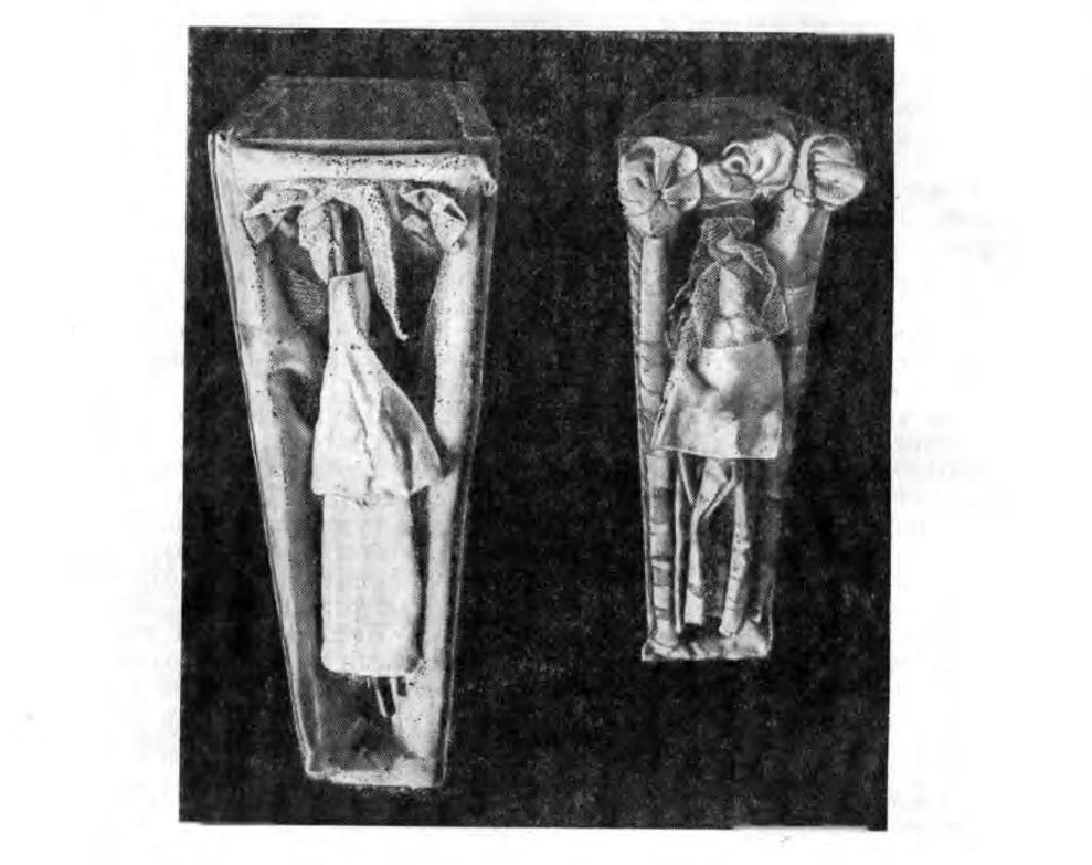 «Две кукушки во гробиках», из книги Т.А. Бернштама «Обряд крещение и похороны кукушки».