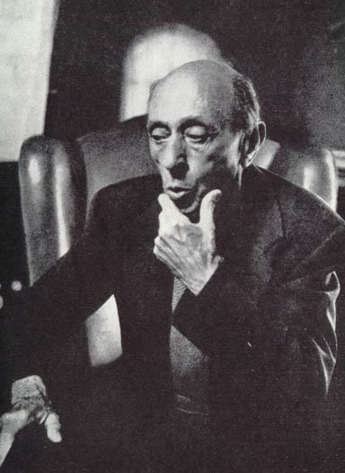 Арнольд Шёнберг, создатель додекафонной системы композиции
