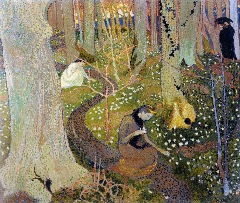 Морис Дени. «Пасхальное утро», 1891