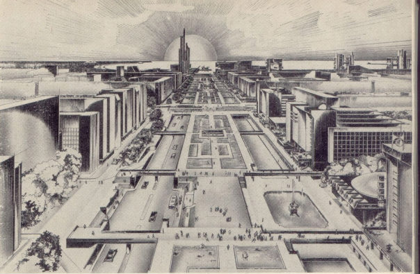 План застройки Юго-запада Ленинграда 1967 г.