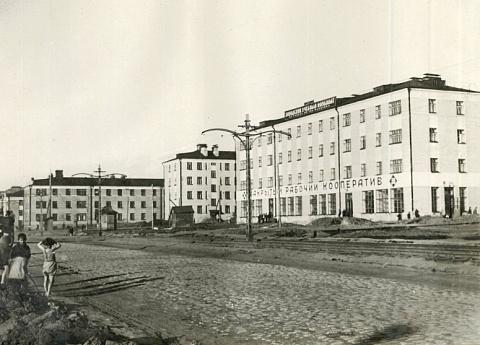 Соцгородок в Мотовилихе (Пермь). Возведен решением горсовета в 1928 г.