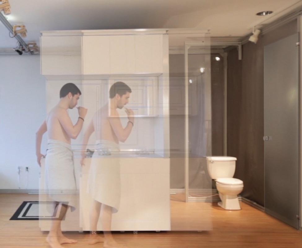 """Кадр из видео MIT Media Lab о цифровом доме """"CityHome"""""""