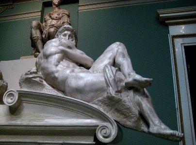 Микеланджело БуонарротиДень1520-1534 гг. Капелла Медичи, Флоренция