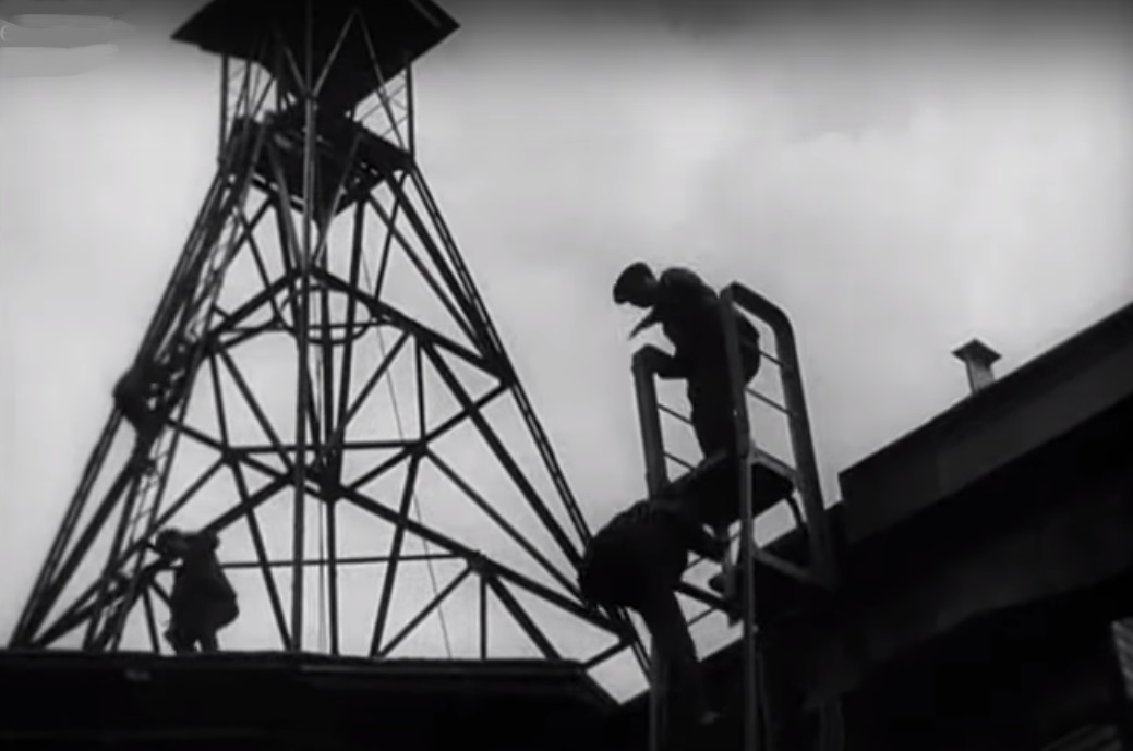 Кадр из фильма «Стачка»