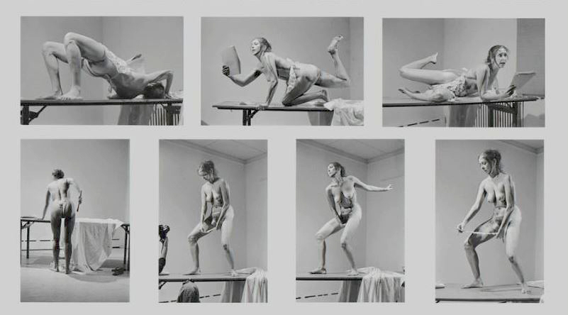 <i>Interior Scroll</i>, Carolee Schneeman, 1975