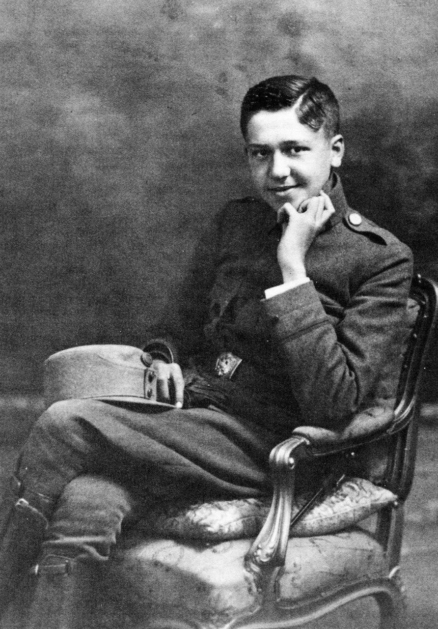Альфред Шюц в австрийской армии (1916–1918)