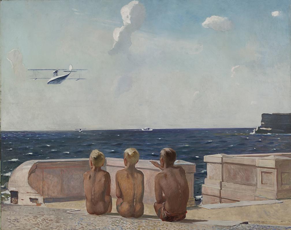 Александр Дейнека. Будущие летчики. 1938