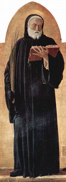 Андреа Мантенья Италия, XV в. Святой Бенедикт Пинакотека Брера, Милан