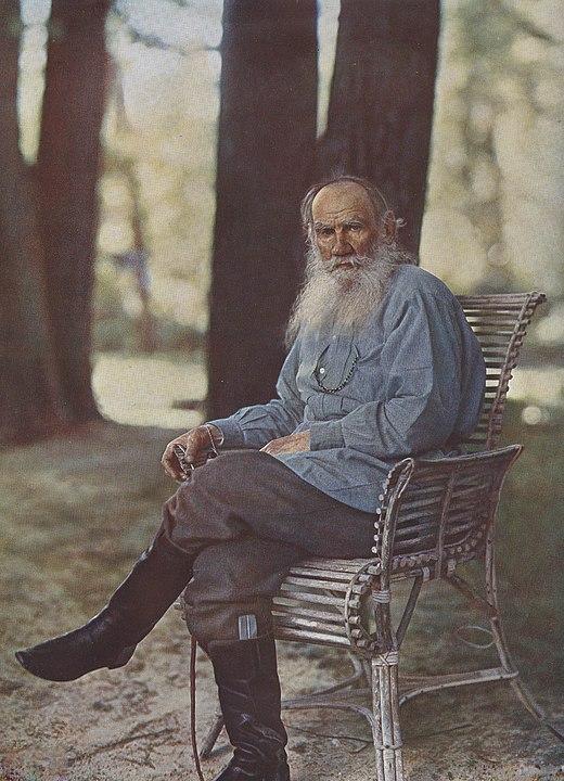 Лев Николаевич Толстой, фото 1908-го г.