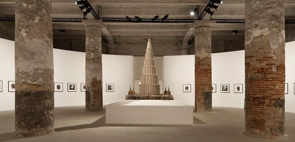 Marino Auriti. The Encyclopedic Palace of the World, вид экспозиции, Венеция, 2013 // Photo By Francesco Galli, Courtesy