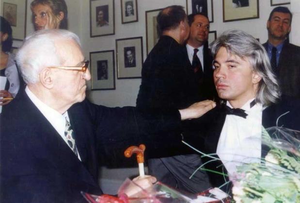 Георгий Свиридов и Дмитрий Хворостовский