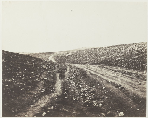 Roger Fenton. Valley of the Shadow of Death. Bronx Documentary Center.