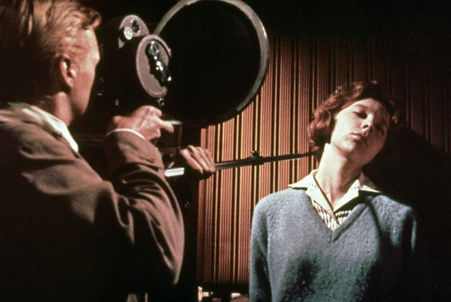 Кадр из фильма «Подглядывающий Том», Майкл Пауэлл, 1960