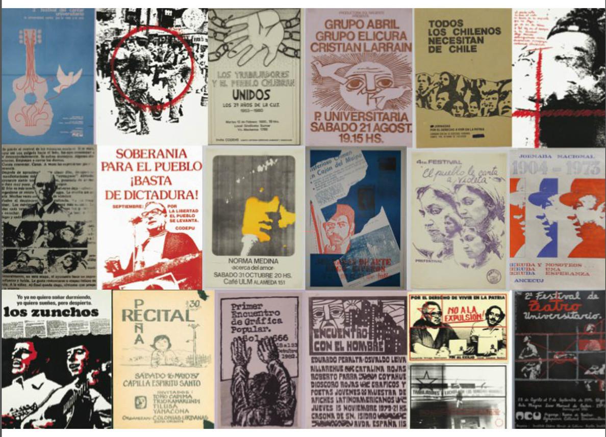 R. Archivo de la Resistencia Visual 1973-1989, Chile (R. Archive of Visual Resistance 1973-1989, Chile). Courtesy: Antoni