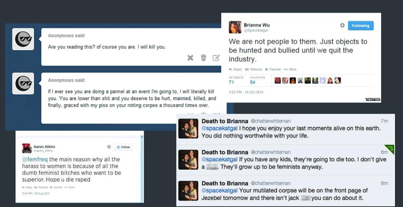 Травля сторонников Зои Куинн в социальных медиа