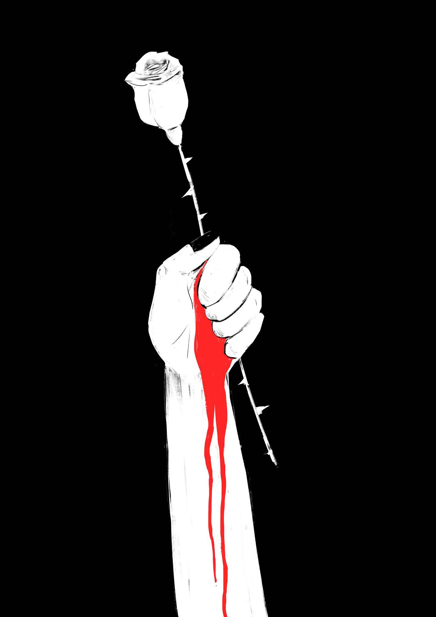 Плакат беларуской художницы и авторки телеграм-канала «Не благодари» Дарьи Сазанович (https://sheeborshee.com/)