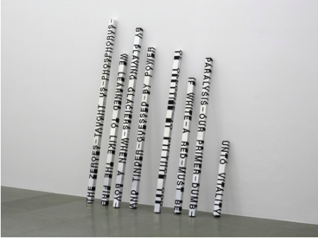 Roni Horn, When Dickinson Shut Her Eyes, No.689: The Zeroes Taught Us Phosphorus, 1993