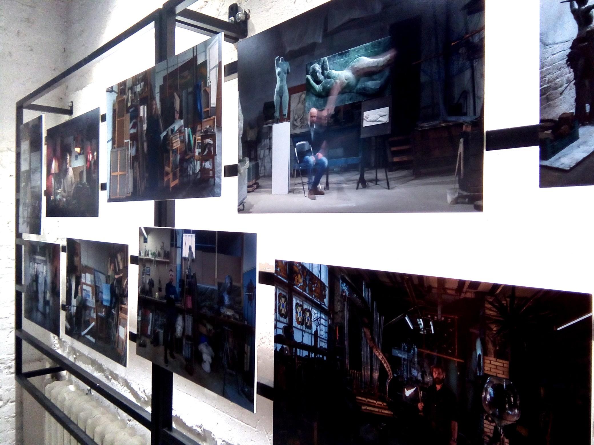 Фотографии Иеронима Грабштейна, вид экспозиции.