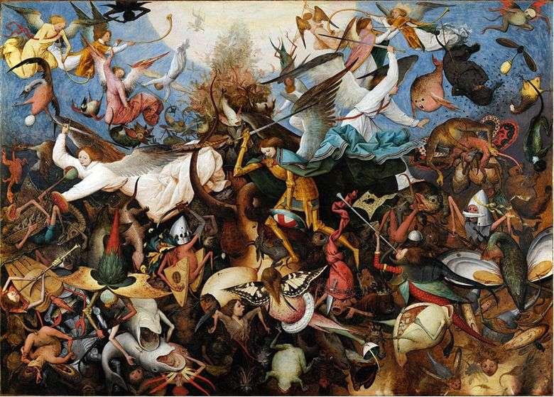 Питер Брейгель Старший «Падение мятежных ангелов» (1562)