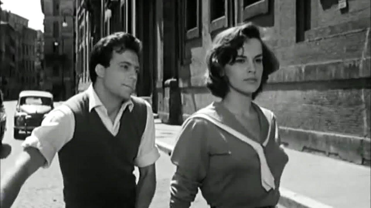 """Кадр из фильма """"Влюбленные"""", 1955"""