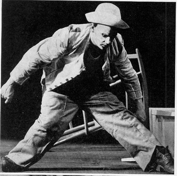 Петер Хандке. «Каспар» (1968). Фото: http://www.handkelectures.freeservers.com/photo.html