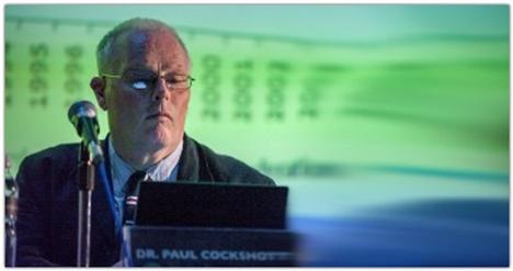 Пол Кокшотт — шотландский учёный, специалист по компьютерным наукам, известен тем, что попытался интегрировать достижения