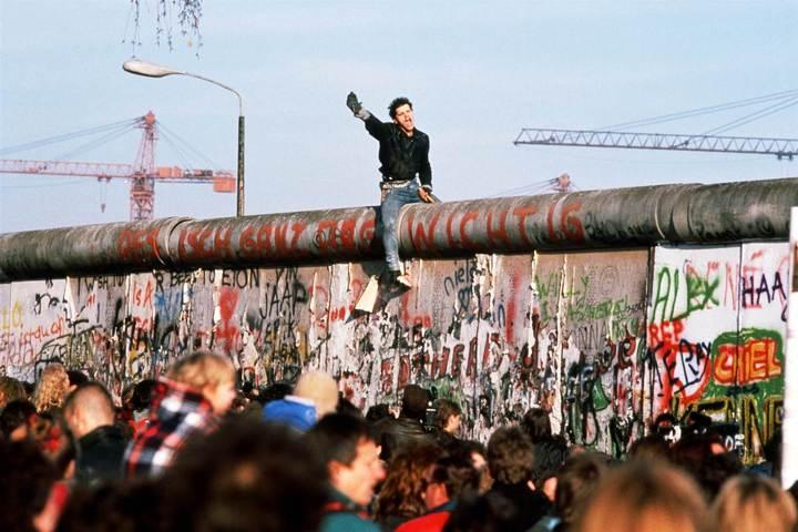 Берлин, ноябрь 1989