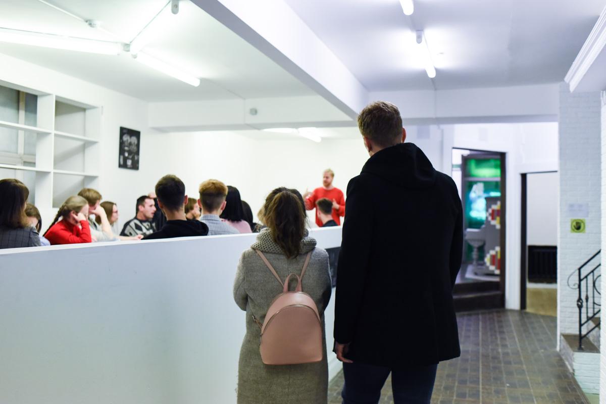 Мероприятие публичной программы 5-й Уральской индустриальной биеннале, 2019 год.© Ксения Попова
