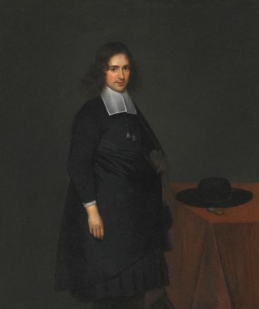 Герард Терборх младший Портрет молодого мужчины Холст, масло. 50×42 см4 июля 2013 г., Лондон, аукцион Sotheby's, лот 184£