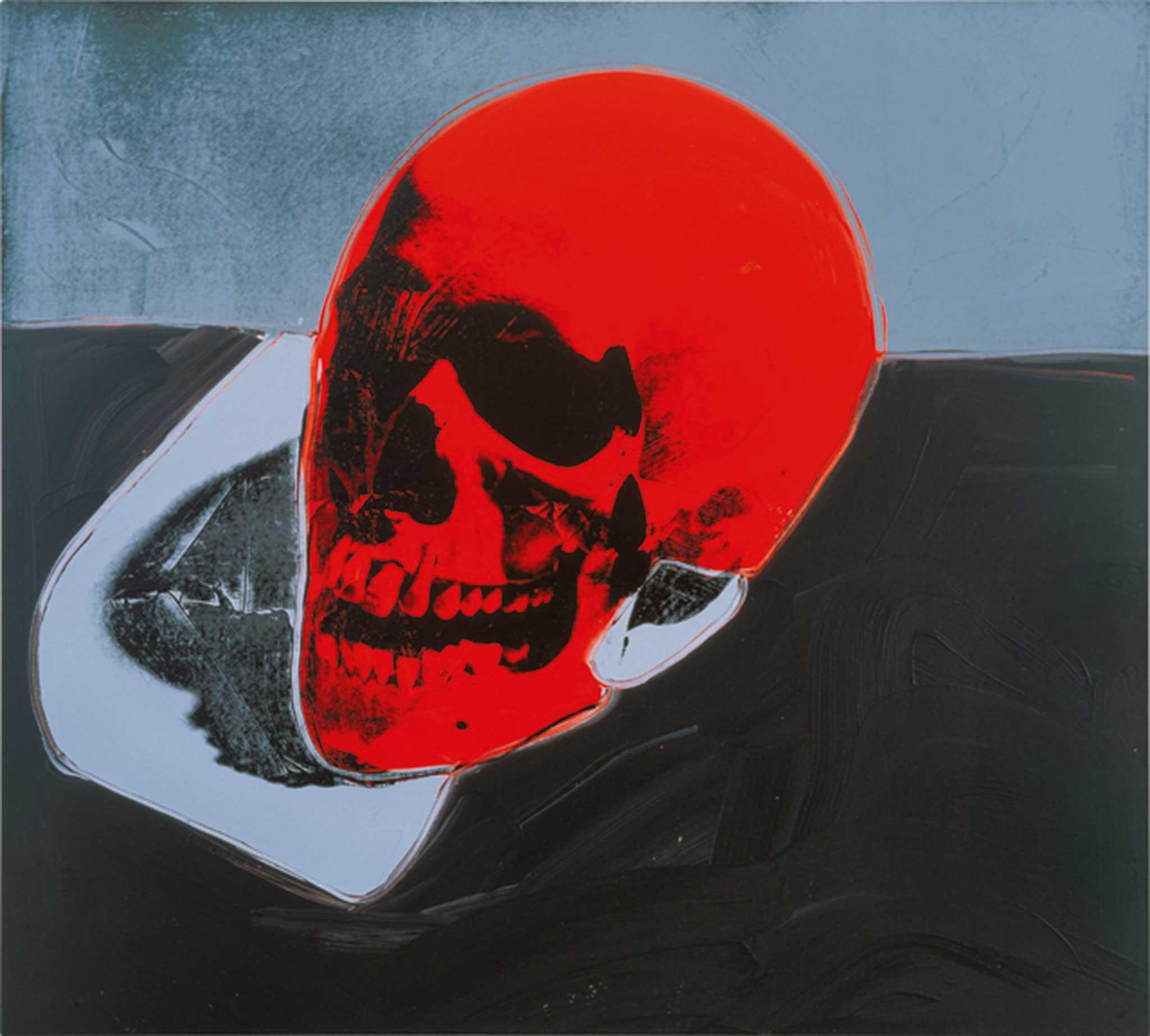"Andy Warhol, ""Skull"", 1976"