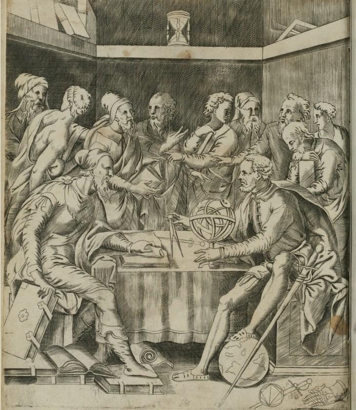 Camillo Agrippa, Trattato di scientia d'arme, con un diaologo di filosofia di Camillo Agrippa Milanese, Rome 1553.