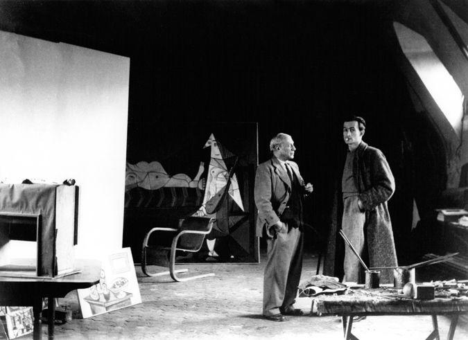 Пабло Пикассо и Бальтюс
