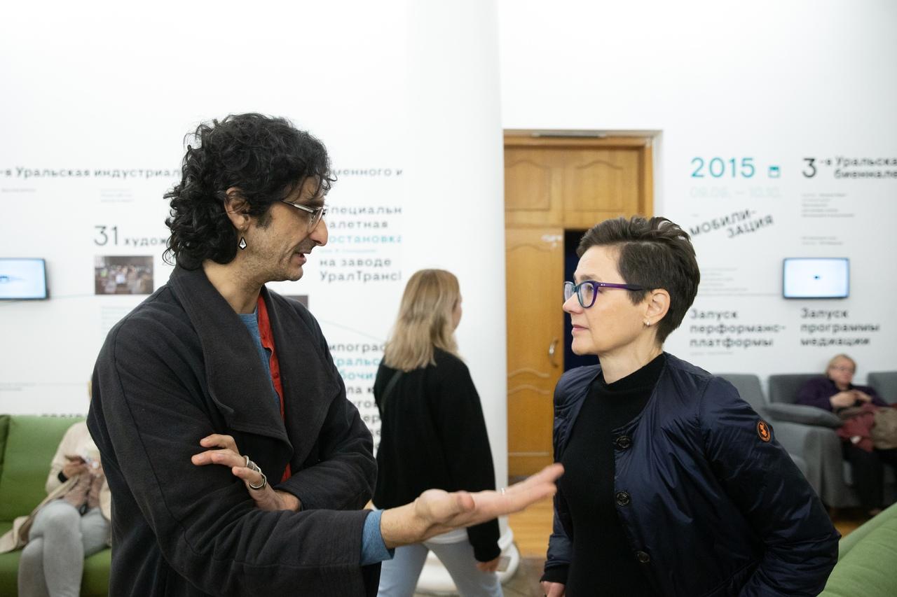 Антрополог Абу Фарман, участник Симпозиума V Уральской индустриальной биеннале