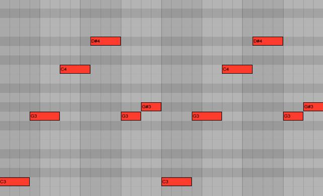 <b>Пример 6: вариант мелодии для партии баса</b>