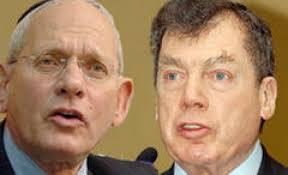 "Бронфман (слева) о Зингере (справа) ""Он украл мои деньги"