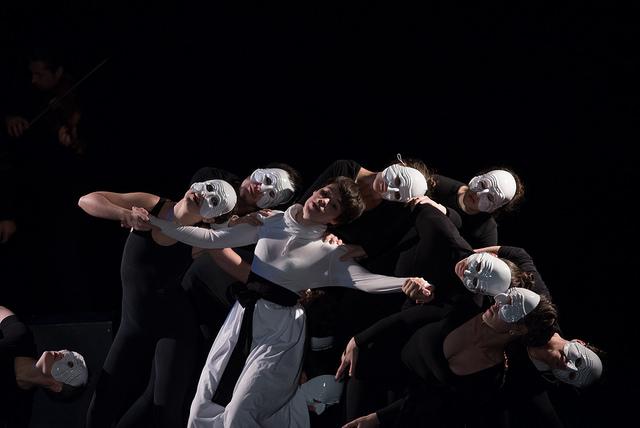 Спектакль «Онегин» (реж. Н. Попова) Фото: Ю. Тюнягин
