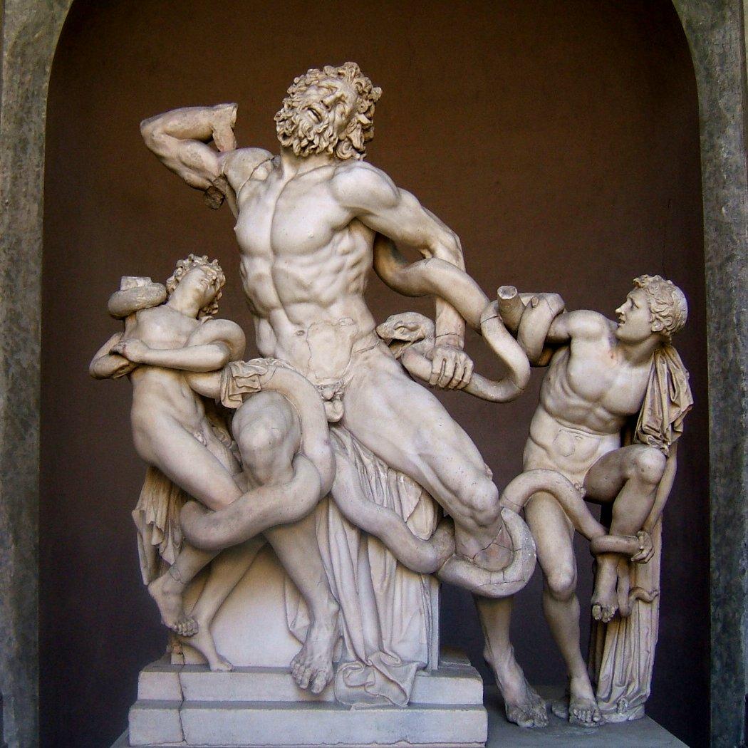 Лаокоон и его сыновья 50 год до н.э.
