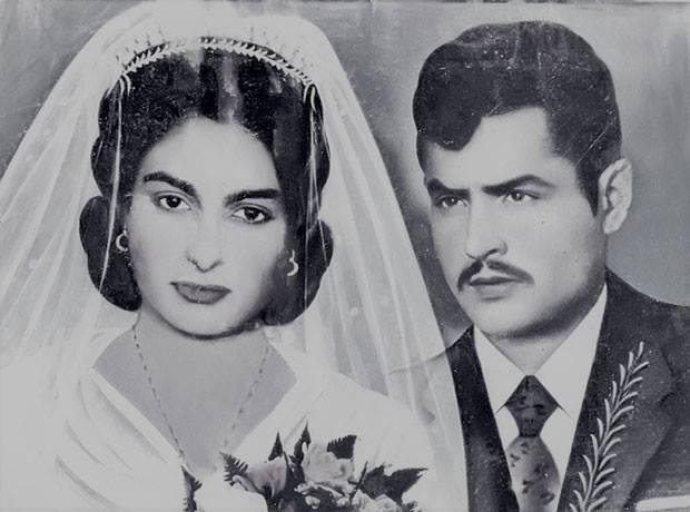Свадебная фотография Горданы Йованович и Джурицы Шайна, 1968 г.
