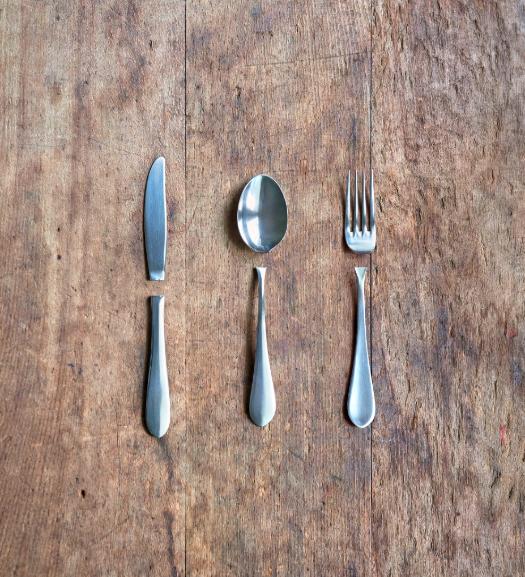 分離したカトラリー Split Cutlery 2018 (𠮷村 仁 / Jin Yoshimura)