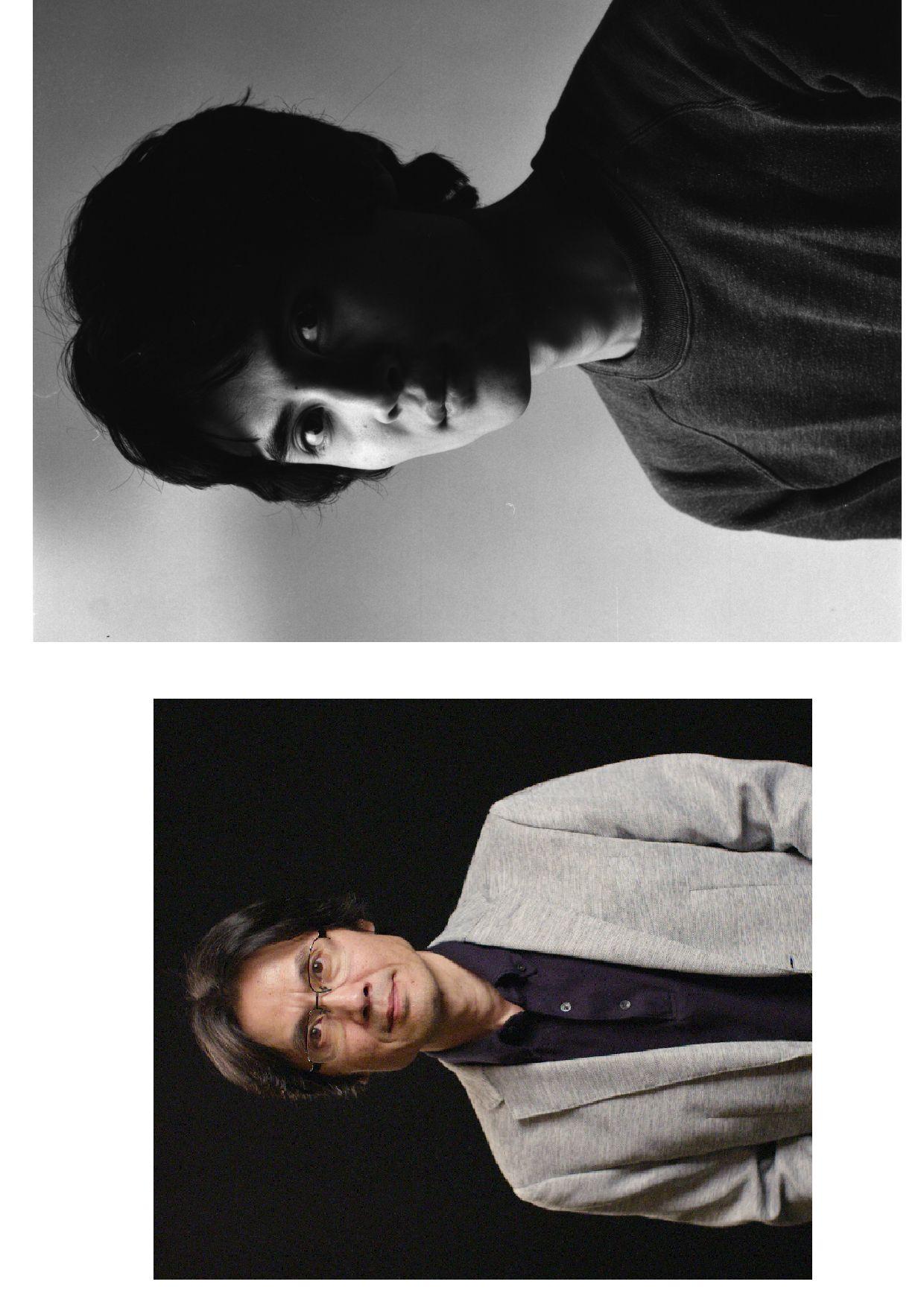 (1) Хироя Сакурай (2019). (2) Фото для брошюры к сольной выставке вVideo Gallery Scan в Токио (1985). Courtesy: все фото
