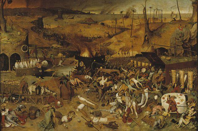 Брейгель. Триумф смерти. 1562