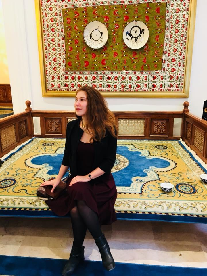На поэтическом вечере в Посольстве Узбекистана в Париже
