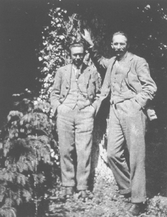 Янаги Соэцу и Бернард Лич. Courtesy: Nihon Mingeikan.