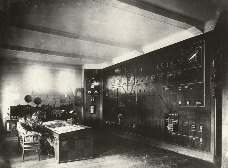 Диспетчерская электространции © Музей истории Мосэнерго