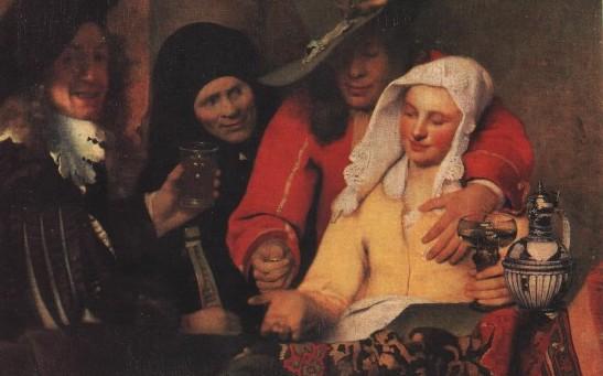 Ян Вермеер, «Сводня», 1656