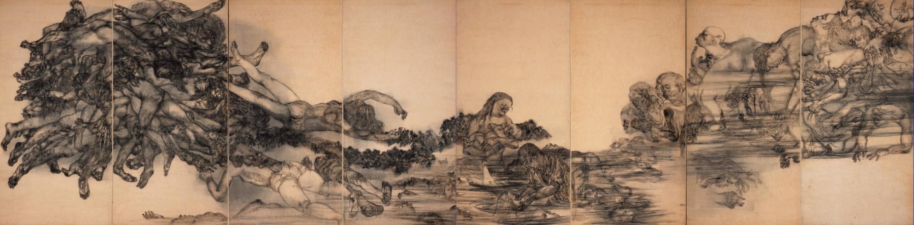 """Ири и Тосико Маруки. """"Вода"""". 1950 год."""