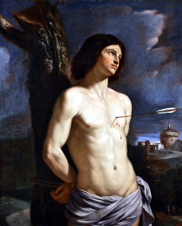Гверчино, Святой Себастьян, 1642 г.