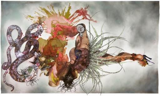 Wangechi Mutu, Non, Je ne Regrette Rien, 2007