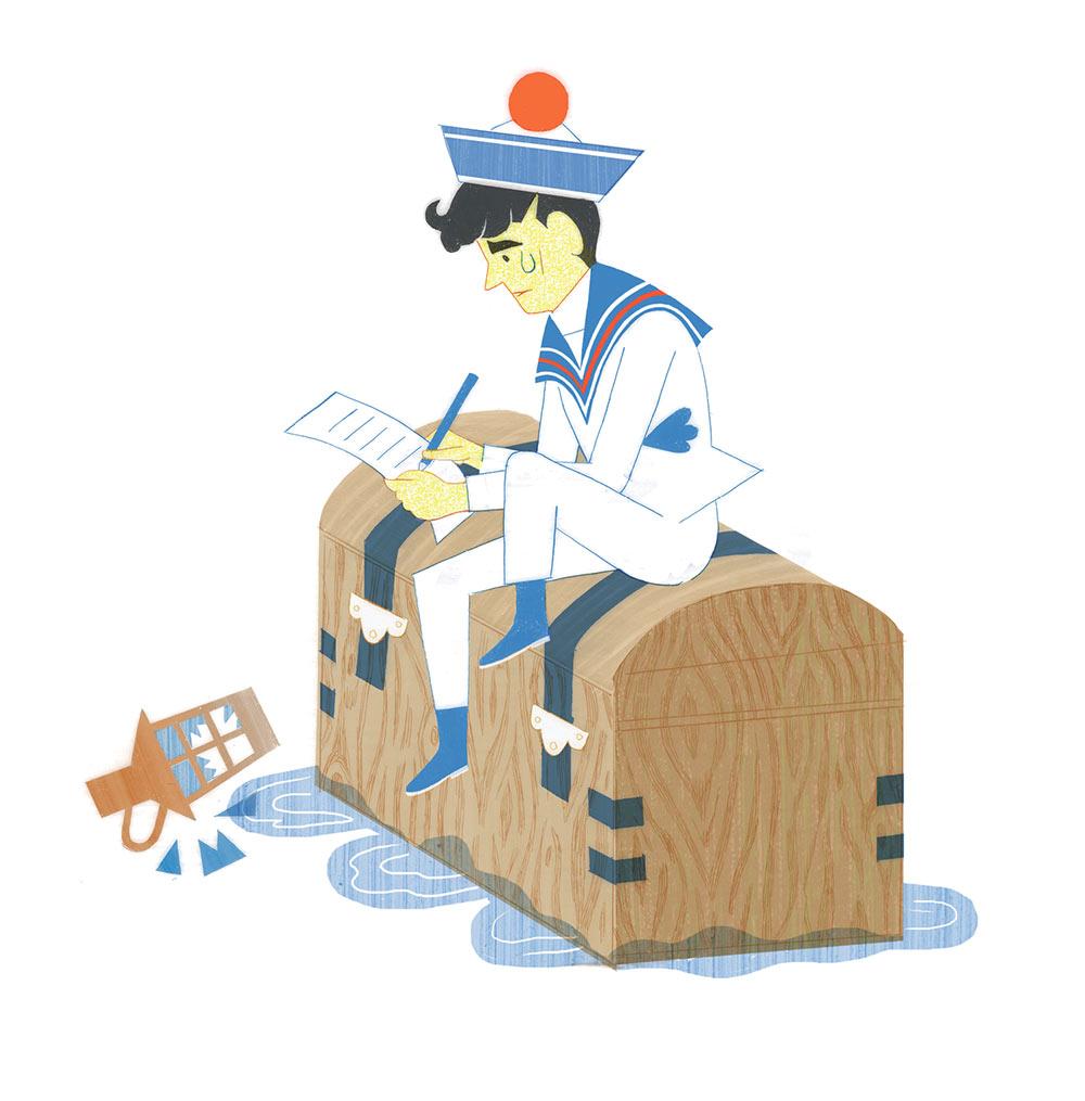 Иллюстрация к книге «Носорог Витгенштейна»