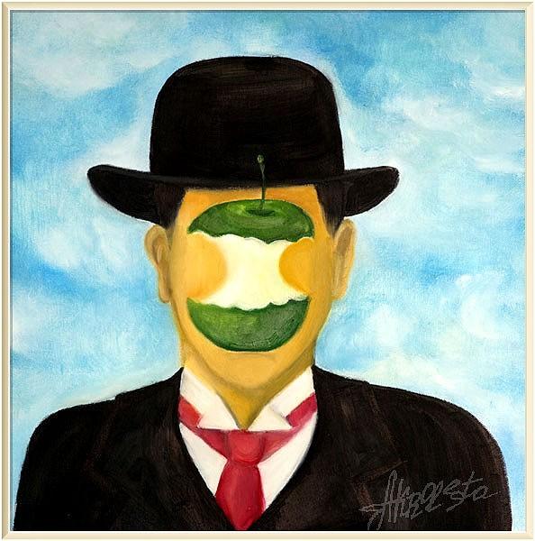 Портрет Рене Магритта